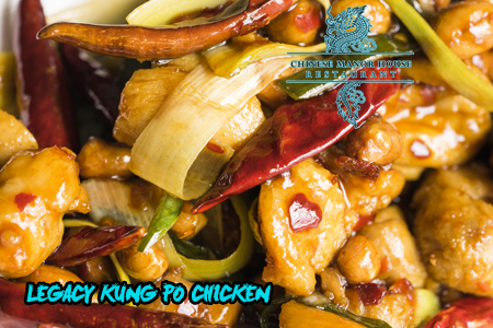 Legacy Kung Po Chicken at The Chinese Manor House Restaurant in Edinburgh
