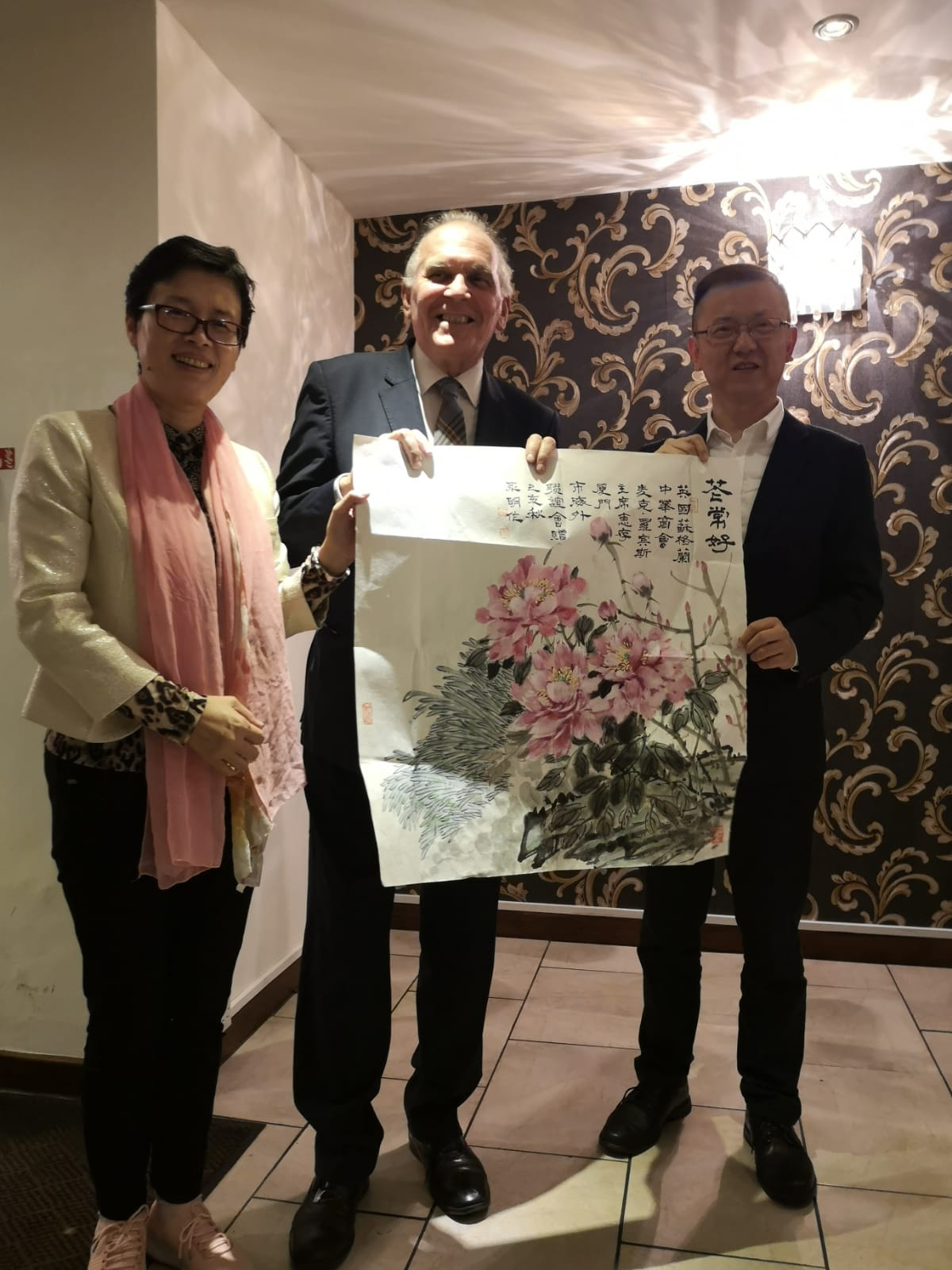 scottish and chinese councillors meet at The Chinese Manor House in Edinburgh to discuss tourism