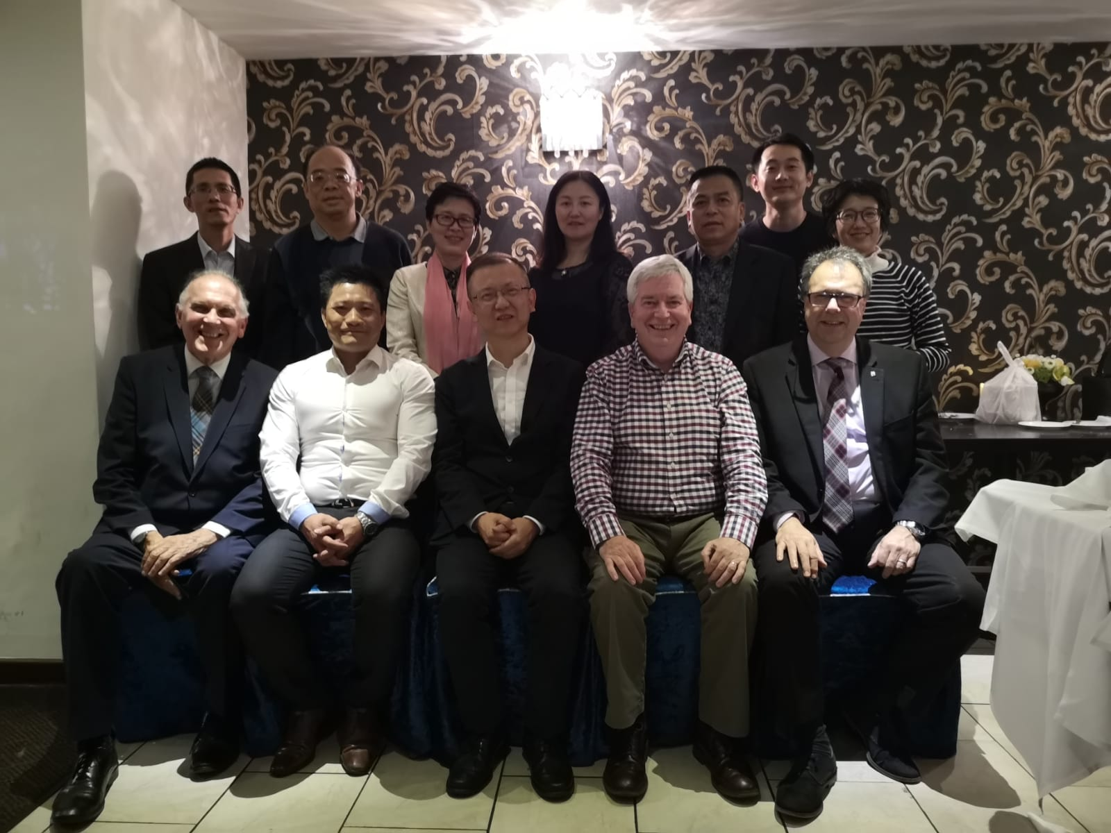 scottish and chinese team councillors meet at The Chinese Manor House in Edinburgh to discuss tourism